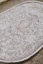 Ковер Art 0006 l.grey-grey овал