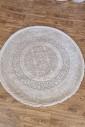Ковер Odesa 00501s l.beige-cream круг
