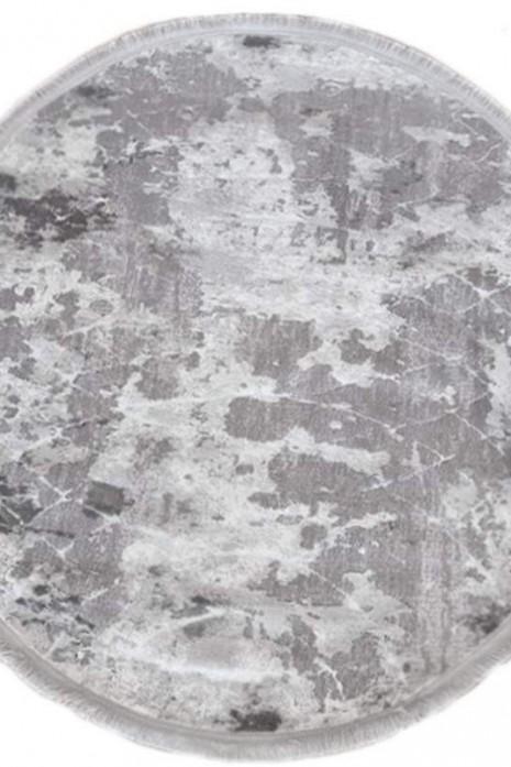 Ковер Odesa 0140eb grey-cream круг