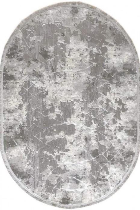 Ковер Odesa 0140eb grey-cream овал