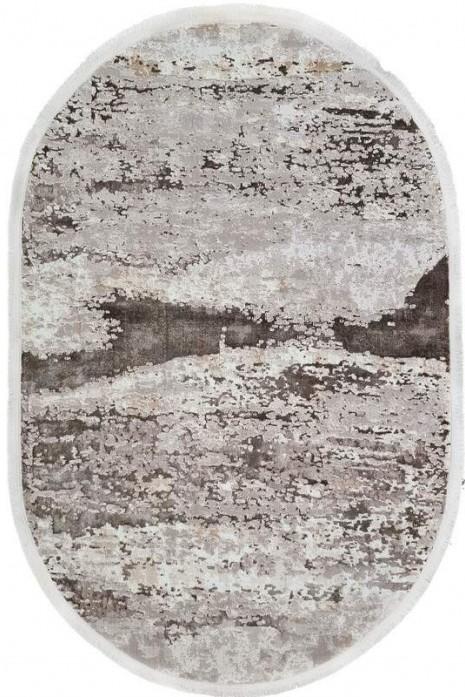 Ковер Sedef 0004b-beige-grey овал