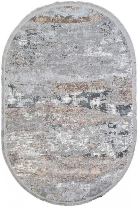 Ковер Sedef 0004b-grey-deb овал