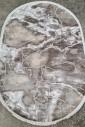 Ковер Sedef 0007b-beige-grey овал