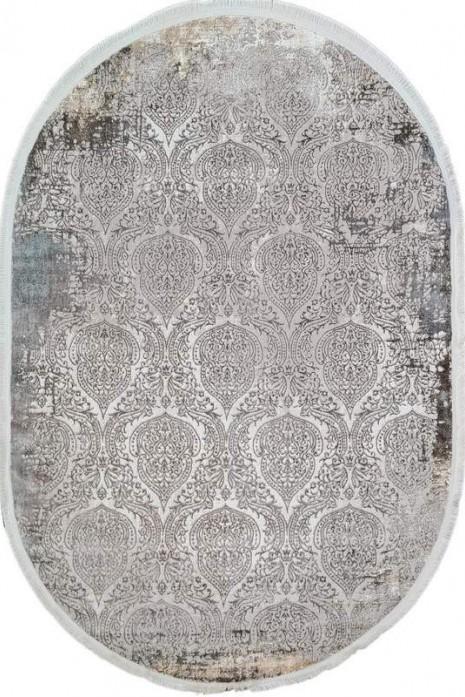 Ковер Sedef 0010b-beige-grey овал