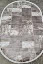 Ковер Sedef 0024b-beige-grey овал