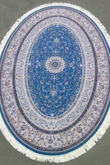 Hamadan Silk 5.75058 Blue