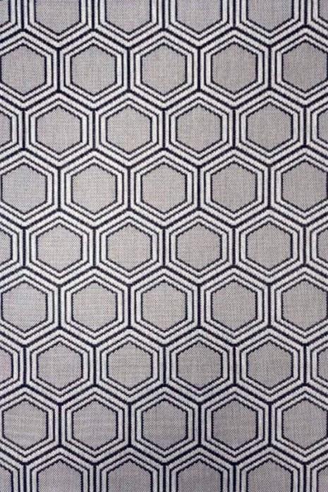 Прорезиненный коврик Kitchen 1963808 серо-черный