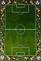 Ковер Kolibri 11118-130 футбольное поле