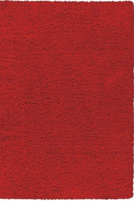 Ковер Flash Shaggy 62001-12 красный
