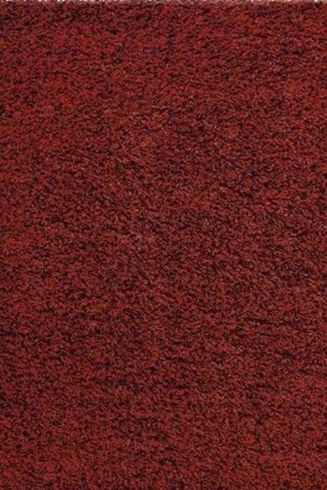 Super Shaggy 6500-13 бордовый квадрат