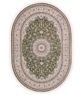 Esfehan 4878a green-ivory овал