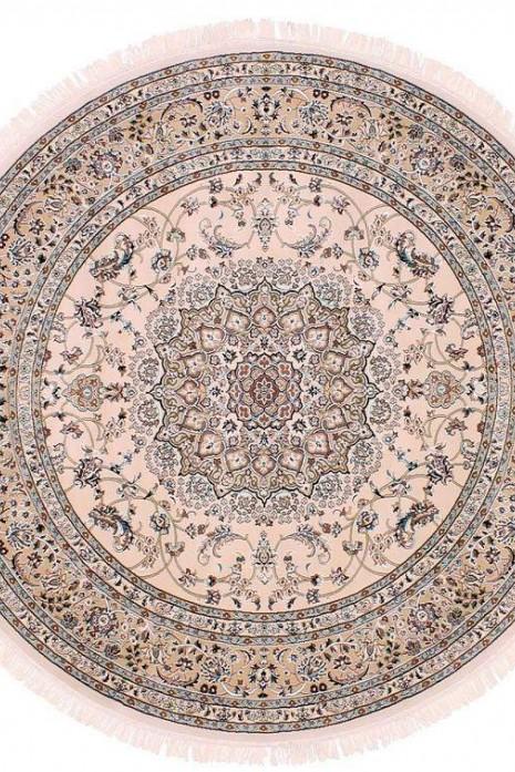 Esfehan 4878a ivory-l.beige круг