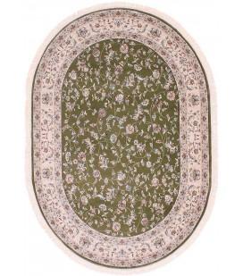 Esfehan 4904a green-ivory овал