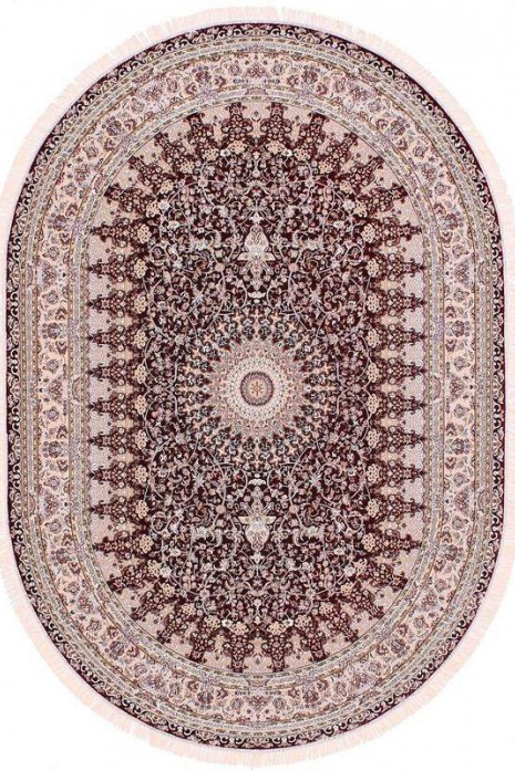 Esfehan 4996a d.red-ivory овал