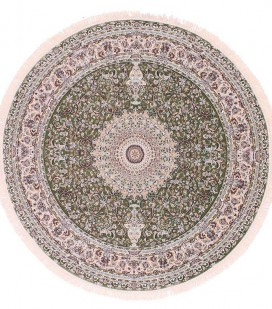 Esfehan 4996a green-ivory круг
