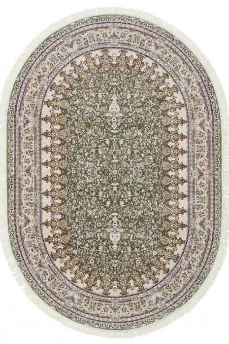 Esfehan 4996f green-ivory овал