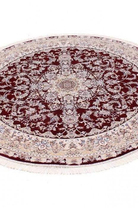 Esfehan 5978a d.red-ivory круг