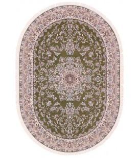 Esfehan 5978a green-ivory овал