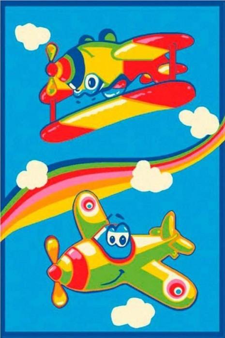 Ковер Kids 8022-44961 с самолетиками