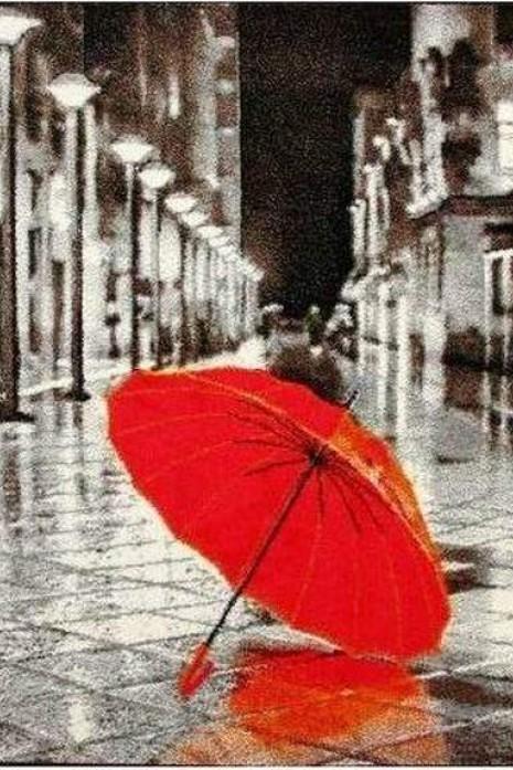 Kolibri 11128-192 ковер с красным зонтиком