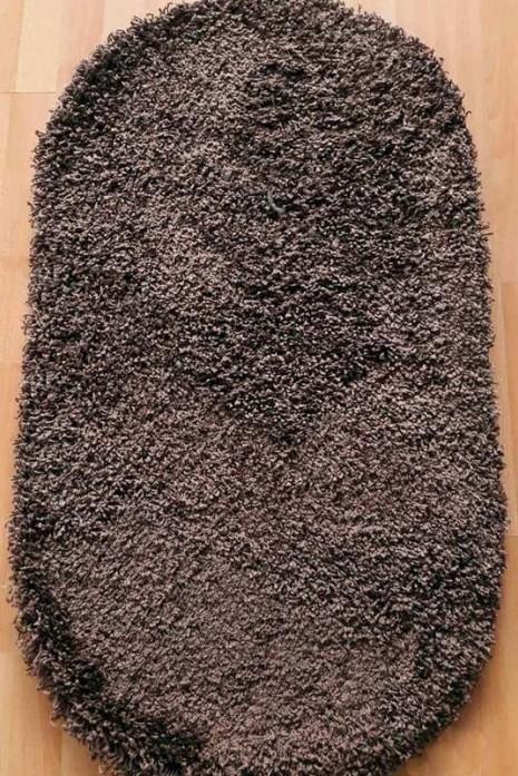 Ковер Loca 6365 d.brown овал