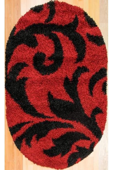 Ковер Loca 9161 red овал