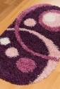 Ковер Loca 9197 d.purple овал