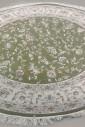 Esfehan 4904a green-ivory круг