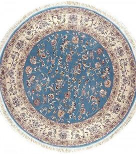 Esfehan 4904a blue-ivory круг
