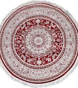 Esfehan 4878a d.red-ivory круг