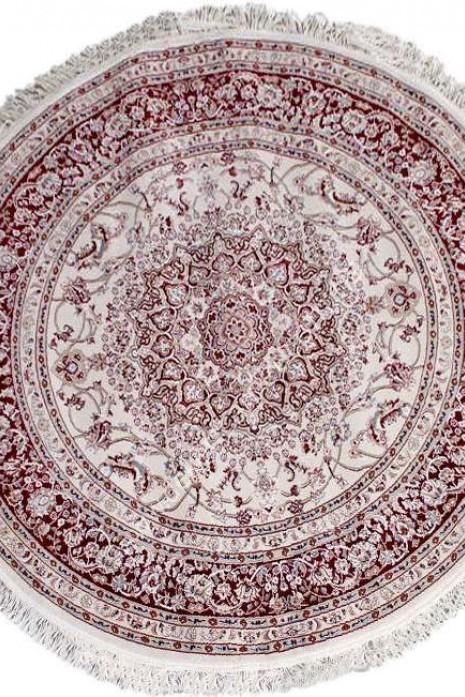 Esfehan 4878a ivory-d.red круг