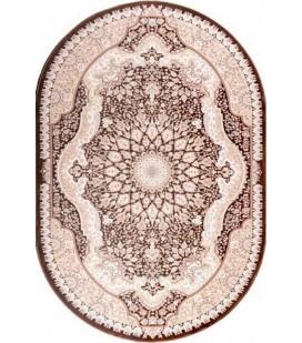 Esfehan ag56a d.brown-ivory овал