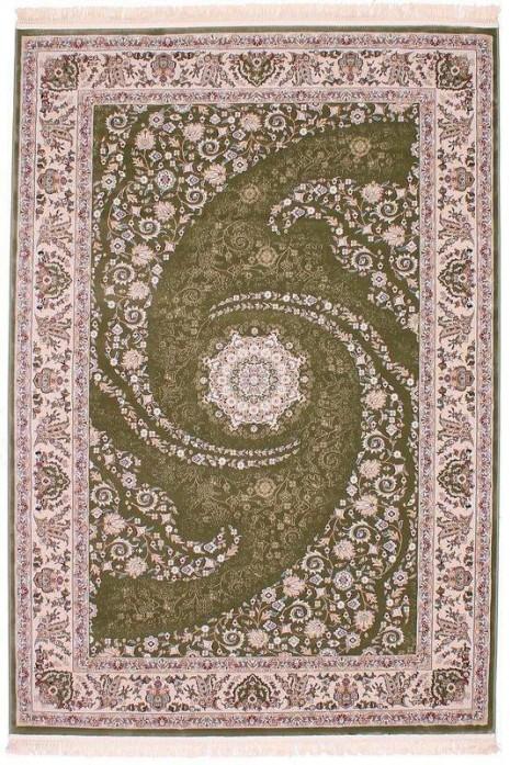Esfehan 7927a green-ivory