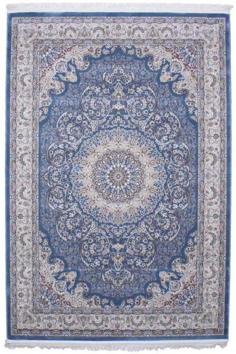 Esfehan 9724a blue-ivory