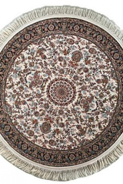 Kashan 801 cream круг