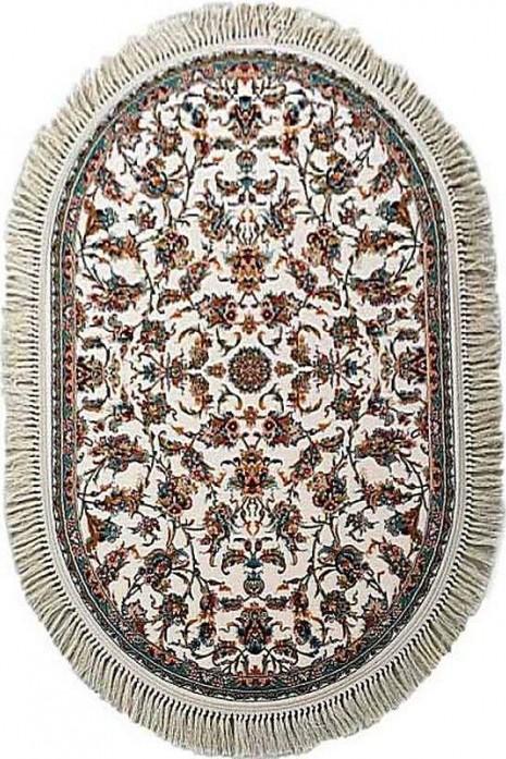 Kashan p553-c cream овал