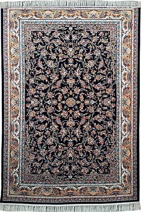 Kashan p553-dbl dark blue