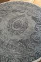 Ковер Taboo g886b hb.grey-grey круг