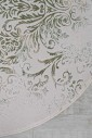 Ковер Vals w2211 ivory-c.h.green круг