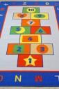 Ковер Game blue