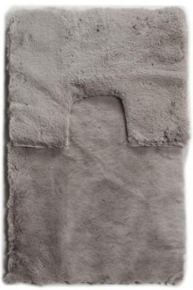 Набор ковриков Rabbit fur light grey tpr