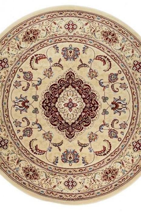 Royal Esfahan-1 2222A cream-cream круг