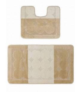 Edremit Beige набор ковриков